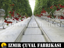 İZMİR ÇUVAL FABRİKASI - 4,10 x 100 mt. Beyaz Taban Örtüsü