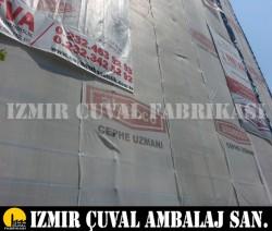 İZMİR ÇUVAL FABRİKASI - Baskılı İskele Filesi