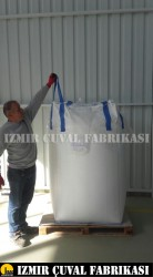 İZMİR ÇUVAL FABRİKASI - 90 X 90 X 120 cm Yeni Big Bag Çuval